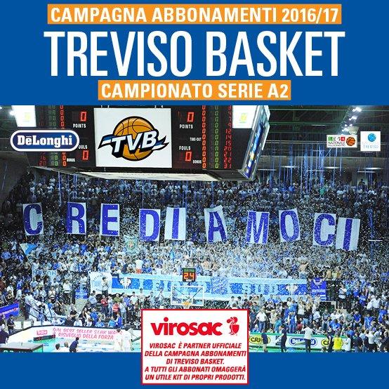 Campagna abbonamenti Treviso Basket 2016/17