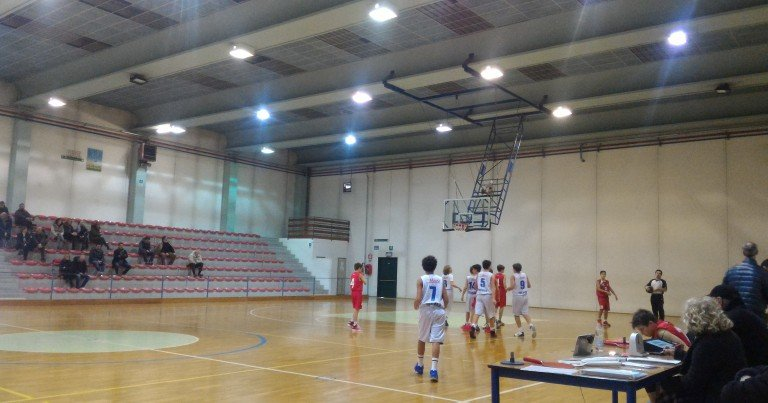 UNDER 13 ELITE, UNIVERSO TREVISO BASKET 55- 71 MARTELLAGO TEAM 78
